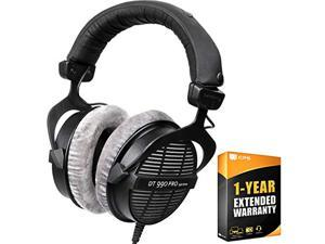 beyerdynamic 459038 DT-990-Pro-250 Professional Acoustically Open Headphones 250 Ohms Bundle with 1 Year Extended Warranty