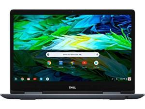 """Dell Inspiron 2-in-1 14"""" Full HD Touch-Screen Chromebook - Intel Core i3, 4GB Memory, 128GB eMMC Solid State Drive Urban Gray Chrome OS"""