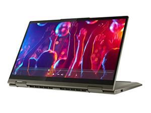 """Lenovo - Yoga 7i 2-in-1 14"""" Touch Screen Laptop - Intel Evo Platform Core i5 - 12GB Memory - 512GB Solid State Drive - 82BH0006US"""