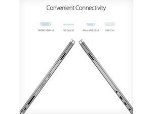 ASUS VivoBook Flip 14 Thin and Light 2-in-1 Laptop, 14? HD Touchscreen, Intel Celeron N4020 Processor, 4GB DDR4, 64GB Storage, Windows 10 Home in S Mode, Light Grey, TPM, Fingerprint, J401MA-DB02