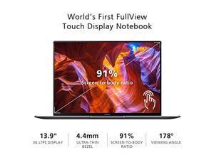 "Huawei MateBook X Pro Signature Edition Thin & Light Laptop, 13.9"" 3K Touch, 8th Gen i7-8550U, 16 GB RAM, 512 GB SSD, GeForce MX150, 3:2 Aspect Ratio, Office 365 Personal, Space Gray - Mach-W29C"
