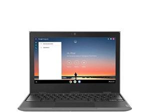 "2020 Lenovo 100e 2nd Gen 11.6"" Anti-Glare HD Business, Student Chromebook Laptop, Quad-Core MT8173C CPU, 4GB RAM, 32GB eMMC+128GB IST SD Card, Type C, WiFi AC, Webcam, Chrome OS"