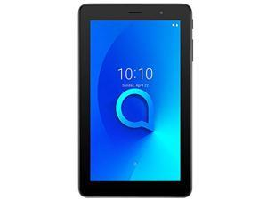 """Alcatel 1T 7.0"""" 9013A (16GB, WiFi + Cellular) Face Unlock, Android 10, GPS, Tablet + Phone US 4G Volte GSM Unlocked (T-Mobile, AT&T, Metro PCS, Straight Talk) (Prime Black)"""