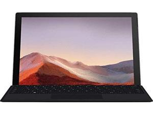 "Microsoft Surface Pro 7 2 in 1 Touchscreen PC Tablet 12.3"" 2736x1824, 10th Gen i3, 4GB RAM, 128GB SSD, 2 Core up to 3.40 GHz, USB-C, Backlit, Bluetooth 5.0, Webcam, Win 10 w/Black Type Cover"