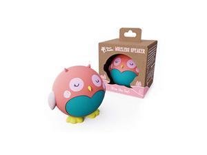 Planet Buddies Bluetooth Speaker, Kids Portable Wireless Speaker (Pink Owl)
