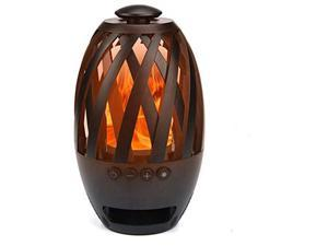 ZhengRun LED Flame Wireless Speaker,Outdoor Flame Speakers,Torch Atmosphere Wireless Speakers,Outdoor Portable Stereo Speaker With HD Audio And Enhanced Bass for iPhone/Android