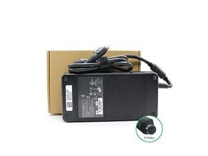 330W 19.5V 16.9A AC Adapter Power Supply Compatible for Alienware X711 P775DM3G MSI GT83VR GT73VR GT80 MSI deltal Desktop Trident 3 Series ADP-330AB D Clevo P370SM-A P775DM3(4-Hole Plug) Power Cord