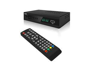 Digital TV Converter Box - UBISHENG U-003 Set Top Box/ TV Box/ ATSC Tuner for Receive Local TV Channel with TV Tuner, PVR Recording&Playback, Multimedia Player