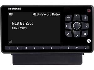 SiriusXM SXEZR1V1 Onyx EZR Satellite Radio with Vehicle Kit, Receive 3 Months Free Service with Subscription, Easy to Install - Enjoy SiriusXM in Your Car and Beyond with this Dock and Play Radio