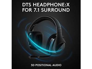 Logitech G533 Wireless Gaming Headset - DTS 7.1 Surround Sound - Pro-G Audio Drivers