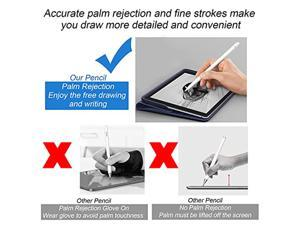 Ailun Stylus Pen with Palm Rejection,Active Pencil Compatible with iPad (2018-2021) for Precise Writing Drawing
