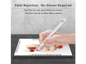Stylus Pen for Apple iPad with Palm Rejection, Active Pencil Compatible with (2018-2020) iPad Pro 11 & 12.9 inch, iPad 8th/7th/6th Gen, iPad Air 4th/3rd Gen,iPad Mini 5th Gen