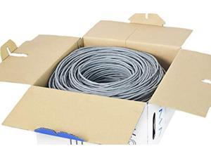 VIVO Gray 250ft Bulk Cat5e, CCA Ethernet Cable, 24 AWG, UTP Pull Box, Cat-5e Wire, Indoor, Network Installations CABLE-V013