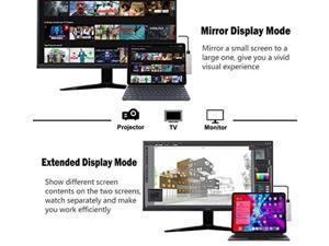 USB C HUB for iPad Pro 11 12.9 2021 2020 2018,iPad Air 4,7in1 iPad Pro Hub with 4K HDMI,3.5mm Headphone Jack,USB3.0,USB C PD Charging&Data,SD/Micro SD Card Reader,Adapter for iPad Pro