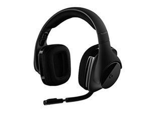 Logitech G533 Wireless Gaming Headset - DTS 7.1 Surround Sound - Pro-G Audio Drivers (Renewed)