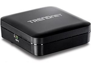 TRENDnet Wireless AC Easy-Upgrader, Upgrade up to 5 GHz Wireless AC, Pre-Encrypted, Easy Set-up, TEW-820AP,Black