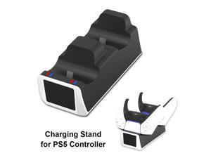 Charger For DualSense Dual USB Type C Charging Dock Station Cradle With Indicator Light For PS5 Wireless Controlle