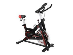 Exercise Bike Indoor Cycling Bicycle Stationary Bikes Cardio Workout Machine Upright Bike Belt Drive Home Gym