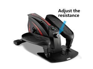 Elliptical Trainer ABS Iron Non-electric Model(Black)