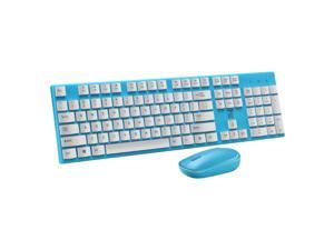 2.4G Wireless Keyboard And Mouse Combination, Waterproof, Compatible With Window XP, Vista, Win7, Win8, Win10.