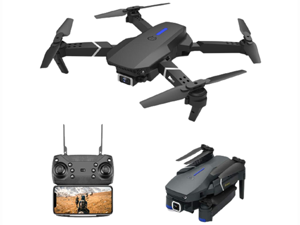 Greatlizard LSRC E525 Drone with 4K Camera Live Video,WIFI FPV Drone for Adults With 4K HD 360° Wide Angle Camera 1800Mah Long flight time Auto Hover Foldable RC Drone Quadcopter