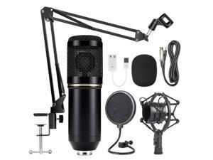 Greatlizard BM800 Microphone stand Condenser Microphone Kit Studio Pro Audio Recording Arm Stand Shock Mount
