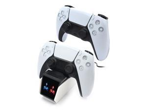 Wireless Controller Gamepad Charger Charger For PS5 Game Controller,PS5 Controller Charging Station Compatible for Playstation 5 DualSense Wireless Controllers, Durable Fast PS5 Controller Charger