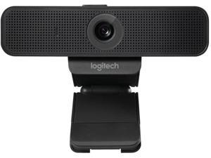 Logitech C925e Webcam with HD Video and Built-In Stereo Microphones - Black