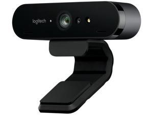Logitech BRIO C1000E Ultra HD Webcam for Video Conferencing, Recording, and Streaming,90 Fps - USB 3.0-4K 4096 X 2160 Video - Auto-Focus - 5X Digital Zoom - Microp