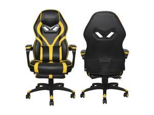 Massage Gaming Chair Office Chair High Back Computer Chair PU Leather Desk Chair PC Racing Executive Ergonomic Adjustable Swivel Task Chair with Headrest and Lumbar Support