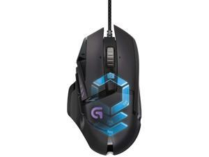 Logitech G502 Hero High Performance Gaming Mouse Special Edition, Hero 25K Sensor, 25600 DPI, RGB, Adjustable Weights, 11 Programmable Buttons, On-Board Memory
