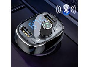 FM Transmitter Modulator Bluetooth Handsfree Car Kit Audio MP3 Player with 3.4A Dual USB Car FM Transmittor Phone Charger