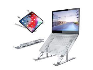 Adjustable Laptop Stand,Portable Laptop Computer Stand notebook stand Rriser&Multi-Angle Stand with Heat-Vent to Elevate Laptop Holder for Mac,Notebook,Lenovo More10-17 Laptop