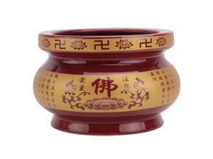 1Pc Ceramic Home Incense Burner Ceramic Incense Burner Home Decor Incense Burner Home Censer for Temple