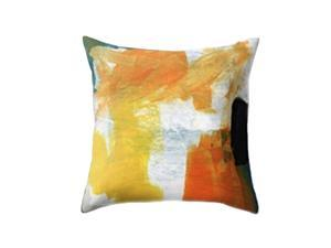 Creative Throw Pillow Case Polyester Single Side Patterned Cushion Cover for Home Bedroom Living Room Decor - 45x45cm (112)