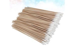 500PCS 15CM Long Single Head Cotton Swab Boxed Wooden Handle Cotton Stick Long Handle Cotton Swabs for Home Store Use