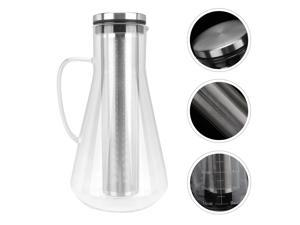 1pc Cold Brew Drip Coffee Pot Portable Coffee Pot Coffee Brewer with Strainer