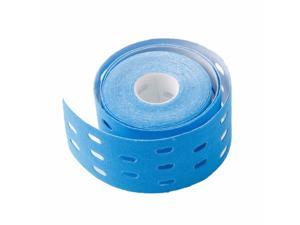 Colorful Sports Muscle Stickers Tape Roll Perforated Cotton Elastic Adhesive Muscle Waterproof Bandage for Strain Injury Support (Random Color)