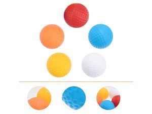20pcs Hollow-out  Balls Practical Plastic Golfing Ball for Swing Practice