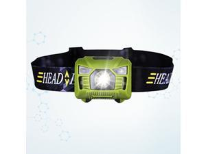 LED Rechargeable Headlamp Flashlight Rotatable Super Bright Head Torch USB Charging Head Lamp For for Outdoor Running Camping Hiking Walking (Black)