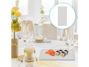 1PC Portable Creative Durable Sushi Plate Serving Plate Tableware for Home Party Food Decor