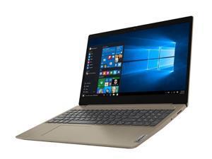 "Lenovo IdeaPad 3  Laptop Almond Intel i3-1005G1 2-Core, 12GB RAM, 1TB HDD, 15.6"" Touch HD (1366x768), Intel UHD, Wi-Fi, Bluetooth, Webcam, 1xHDMI, SD Card, Win 10 Home, 81WE00LBUS"