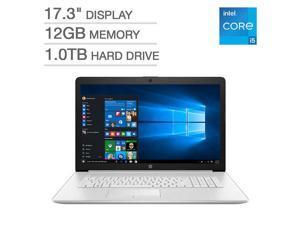 "HP 17.3"" Laptop Intel Core 11th gen i5-1135G7 Processor, 1TB Hard Drive, 12GB Memory DVD Writer, Backlit Keyboard, Webcam, Windows 10 Home - Silver - 17-by4063cl"