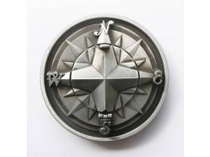 New Vintage Original Compass Star Belt Buckle