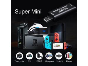 Original Mini 4K 1080P 30fps USB Video Capture Card HDMI Phone Computer Game TV BOX DVD Recording Box PC Live Stream Broadcast