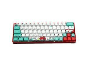 Mechanische Toetsenbord Coral Sea Keycap dz60/poker/GK61/GK64  Dye sublimation pbt Keycap OEM 71 key Korean Japanese Character