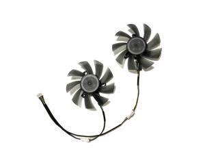 kuroutoshikou R9 285 GPU VGA Alternative Cooler Cooling Fan For GALAKURO R9-285 Graphics Cards As Replacement