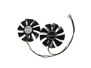 2pcs/set GA91S2H GeForce GTX 950 960 1050 1060 GPU Cooler Fan For ZOTAC GTX1050Ti X-Gaming GTX760 2GD5 HB VGA Cards Cooling