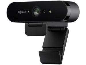 Logitech BRIO Ultra 4K HD Webcam for Video Conferencing, Recording, and Streaming - Black