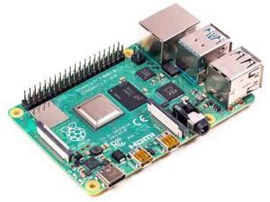 Raspberry Pi 4B Development Board Dual-Band WiFi Bluetooth 5.0 HDMI Dual Display Output Raspberry Pi Dual Ethernet (Raspberry Pi 4B 1GB)